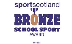 SportScotland Bronze Award Icon